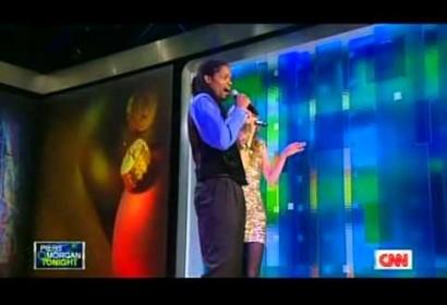 """Landau Eugene Murphy Jr ft. Lara Johnston – """"Baby, It's Cold Outside,"""" Live on CNN"""