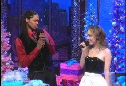 "Landau Eugene Murphy Jr ft. Lara Johnston – ""Baby It's Cold Outside"" Live on the Wendy Williams"
