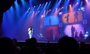 Great photos of Landau's show at Caesar's Palace in Las Vegas courtesy of Landau fan Smedley Lynn