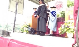 Honorary Doctorate of Music Degree from the University of Charleston
