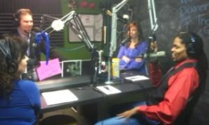 On the air at Island 106 Panama City FL