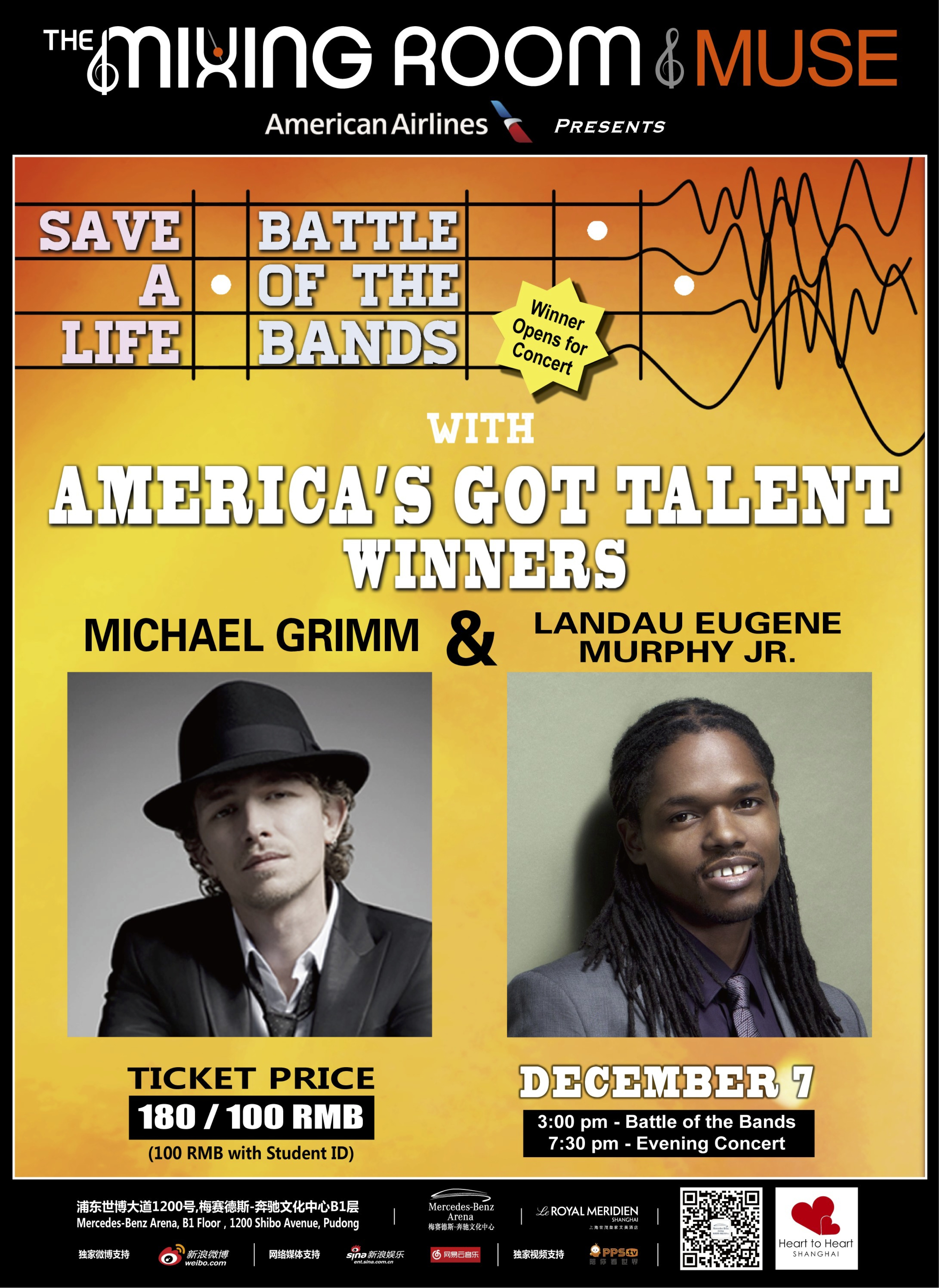 fellow America's Got Talent winner – Michael Grimm!