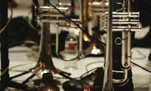 Lee Thornburgs horn & mutes