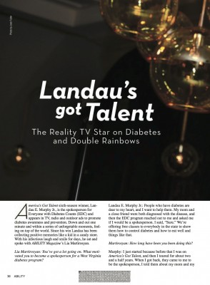 LEM - Article in Ability Magazine pg1