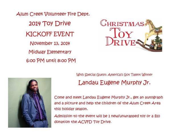 Alum Creek Fire Dept Toy Drive